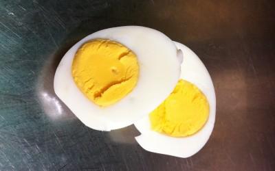 Les œufs cuits durs