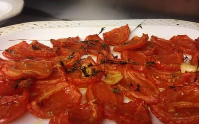 Réaliser des tomates confites