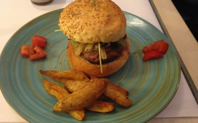 Burger de magret de canard & potatoes