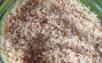 Le riz pilaf